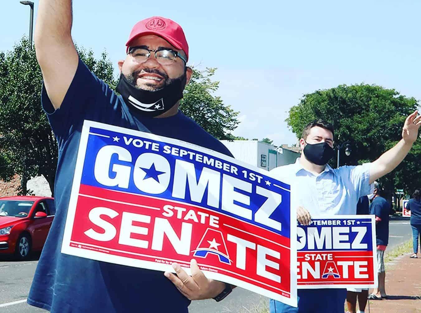 Adam Gomez: first Latino to serve in the Massachusetts senate
