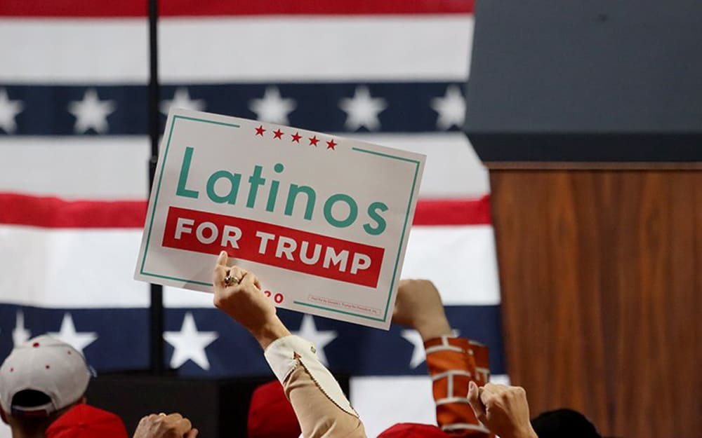 President Trump gains support from Massachusetts' Latinos