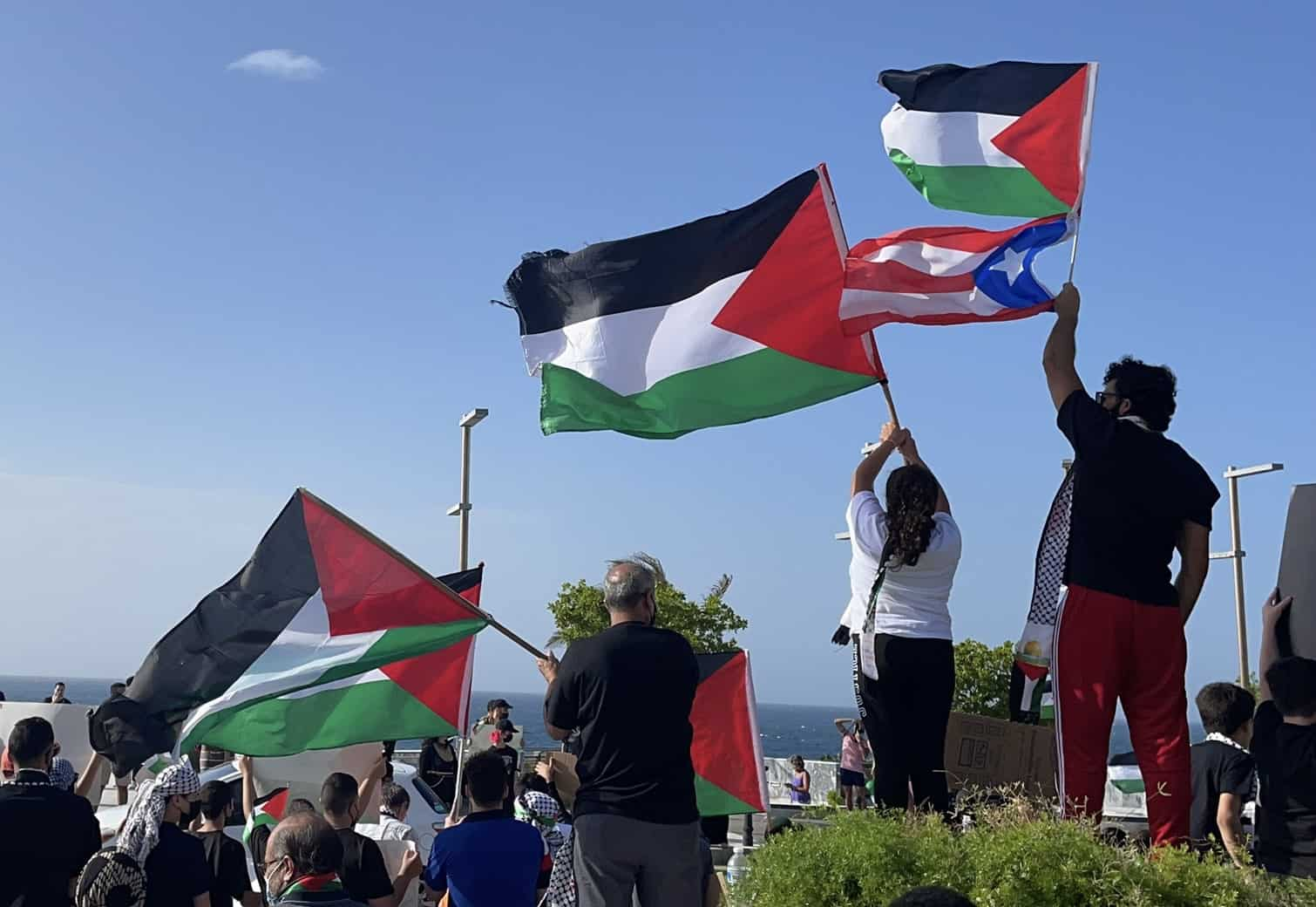 Many Puerto Ricans See Solidarity With Palestinians